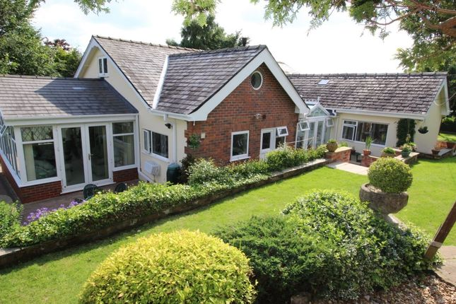Thumbnail Bungalow for sale in Hill End, Werneth Low Road, Romiley, Stockport