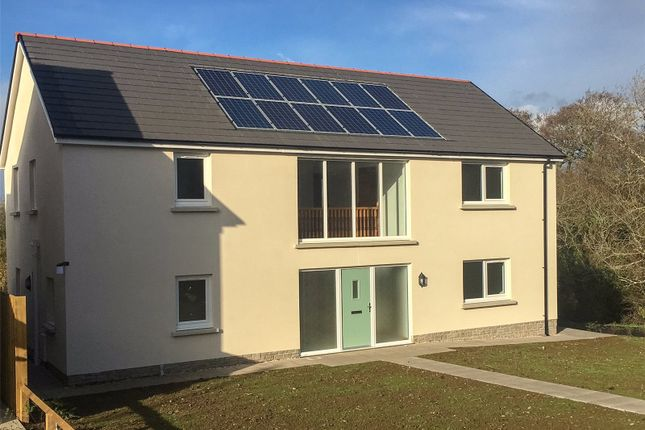 Thumbnail Detached house for sale in Lamphey (Plot 3), Green Meadows Park, Narberth Road, Tenby