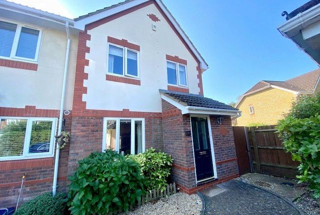Thumbnail Semi-detached house to rent in Larkspur Drive, Chandler's Ford, Eastleigh