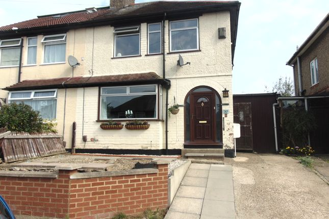 Semi-detached house for sale in Fullingdale Road, Headlands, Northampton