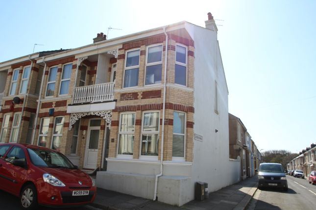 Thumbnail End terrace house for sale in Durban Road, Plymouth