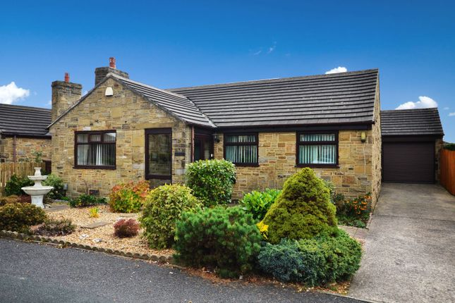 Thumbnail Detached bungalow for sale in Summerfield Grove, Lepton, Huddersfield