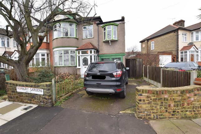 Thumbnail End terrace house for sale in Norbury Gardens, Chadwell Heath, Romford