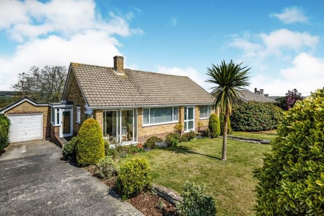 Thumbnail Bungalow for sale in Carlyon Bay, St Austell, Cornwall