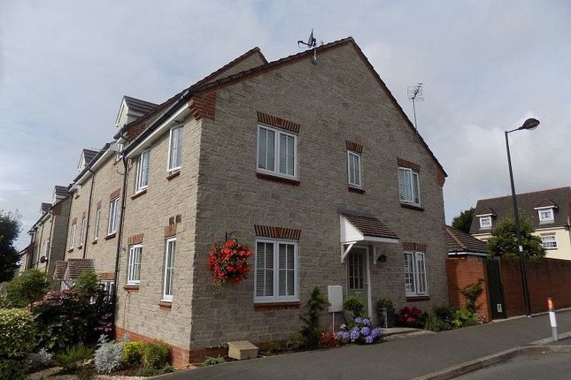 Thumbnail End terrace house to rent in Bryn Dryslwyn, Broadlands, Bridgend.