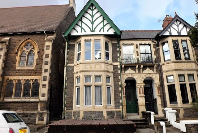Thumbnail End terrace house for sale in Morlais Street, Roath, Cardiff