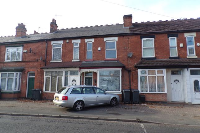 Thumbnail Terraced house to rent in Fox Hollies Road, Acocks Green, Birmingham