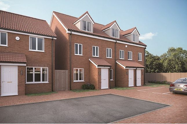 Thumbnail Terraced house for sale in Plots 18-20 & 23-25 Coverdale, Polperro Close, Paignton, Devon