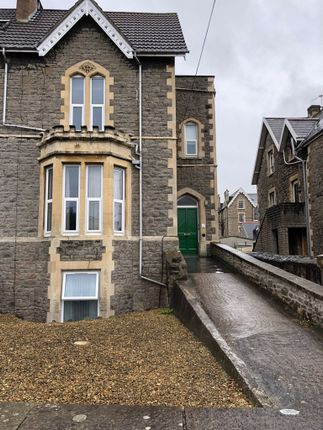 Thumbnail Flat to rent in Hallam Road, Clevedon