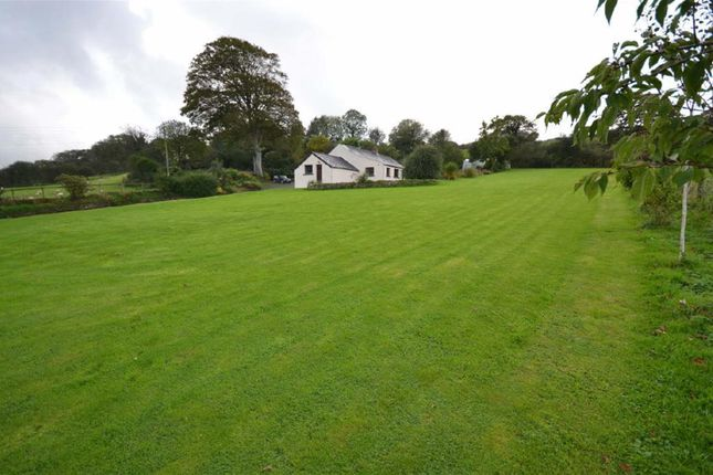 Thumbnail Detached bungalow for sale in Treffgarne, Haverfordwest