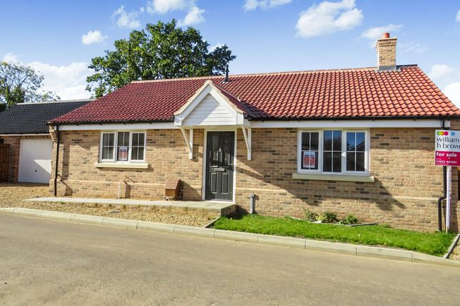 Thumbnail Detached bungalow for sale in Saffron Close, Watton, Thetford
