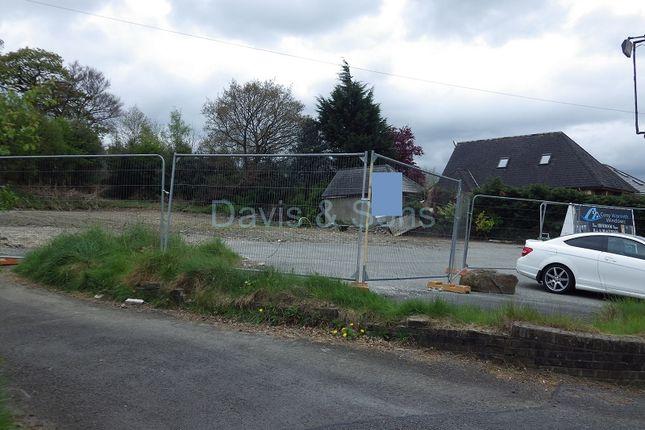 Thumbnail Land for sale in Plot 1 Newbridge Road, Pontllanfraith, Blackwood, Caerphilly.