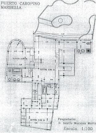 Floor Plan of Spain, Málaga, Marbella, Cabopino