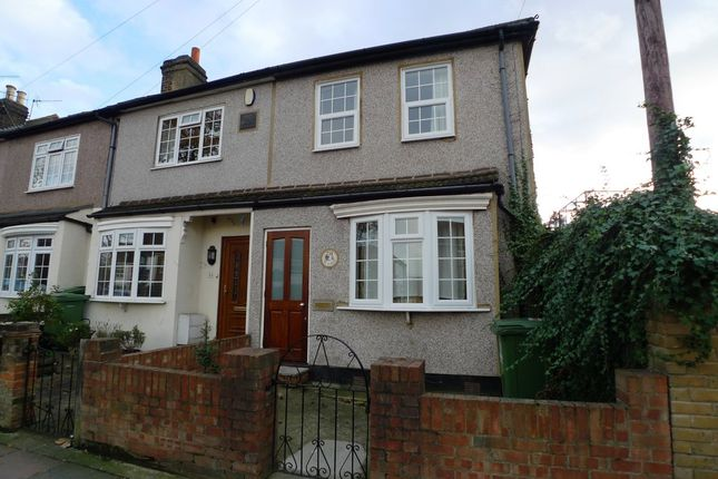 Thumbnail End terrace house to rent in Alma Road, Sidcup