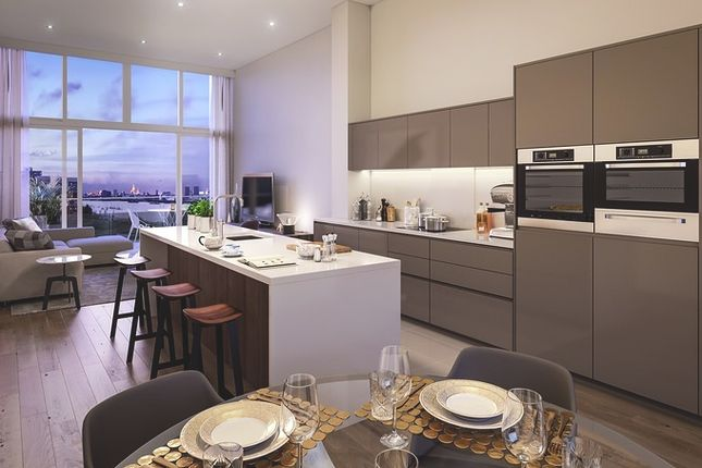 Thumbnail Flat for sale in Uberhaus At The Village Square, West Parkside, Greenwich, London