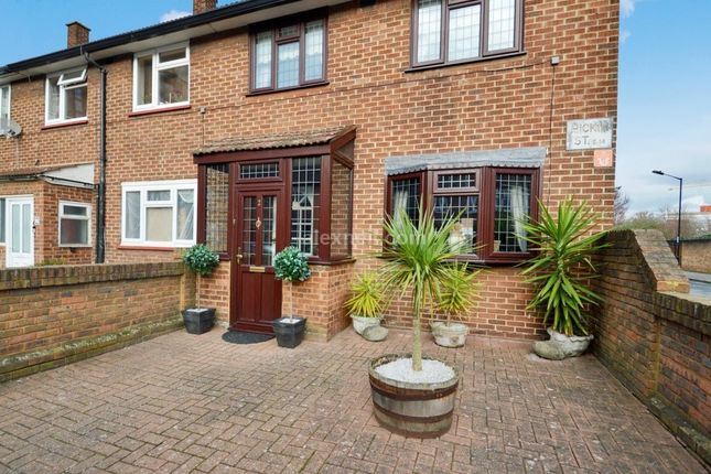 Thumbnail End terrace house for sale in Hickin Street, London