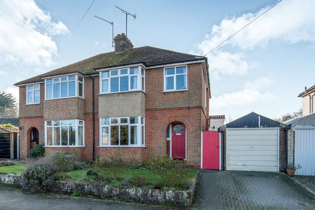 Thumbnail Semi-detached house for sale in Westley Road, Bury St. Edmunds