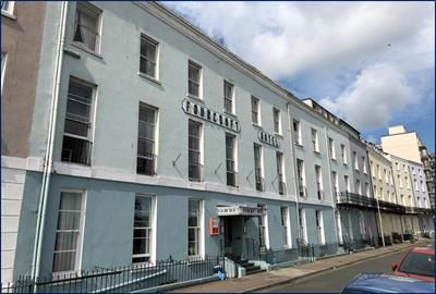 Thumbnail Hotel/guest house for sale in Fourcroft Hotel, The Croft, Tenby, Pembrokeshire