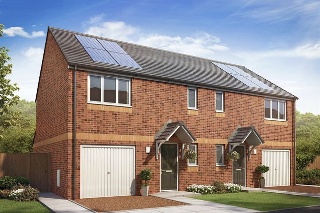 """Thumbnail Semi-detached house for sale in """"The Newton """" at Etna Road, Falkirk"""