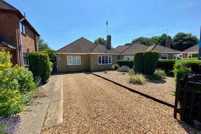 Thumbnail Detached bungalow for sale in Mary Armyne Road, Peterborough