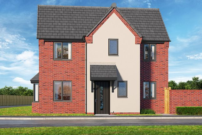 "Thumbnail Property for sale in ""The Crimson"" at Brook Park East Road, Shirebrook, Mansfield"