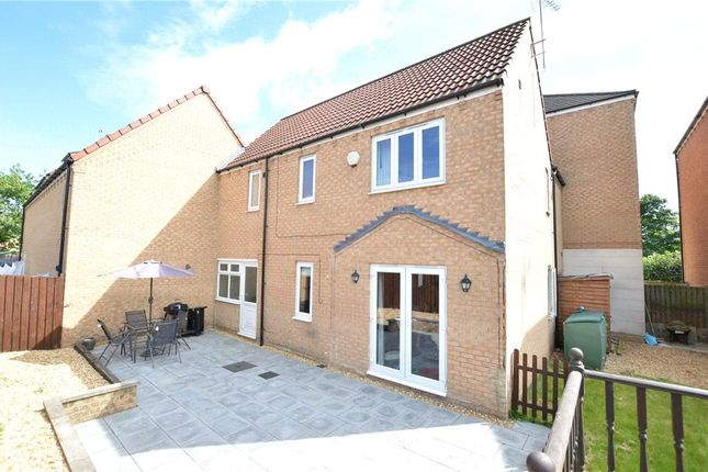 Thumbnail Link-detached house to rent in Scholars Gate, Garforth, Leeds, West Yorkshire