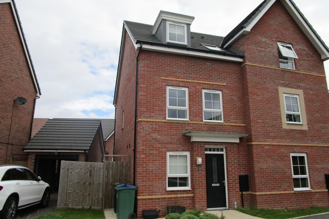Thumbnail Semi-detached house to rent in Joseph Hall Drive, Tipton