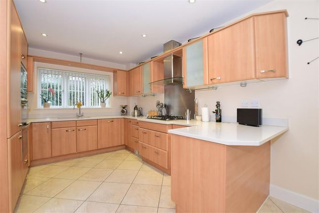 Thumbnail Detached house for sale in Quindell Place, Kings Hill, West Malling, Kent
