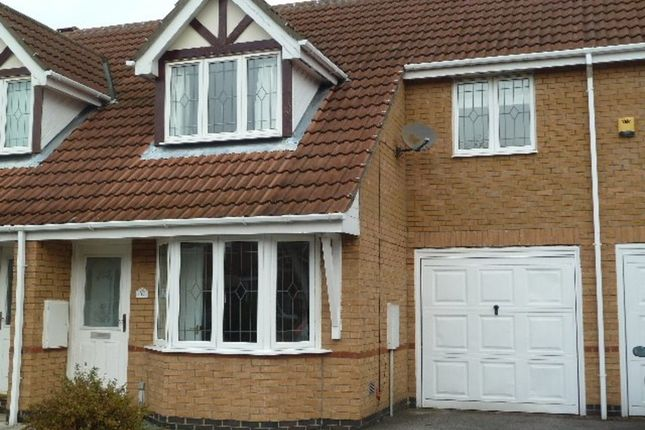 Thumbnail Terraced house to rent in Nornabell Drive, Beverley