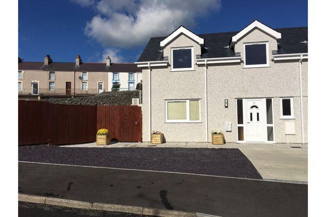 Thumbnail Semi-detached house for sale in Ffordd Wynfa, Holyhead