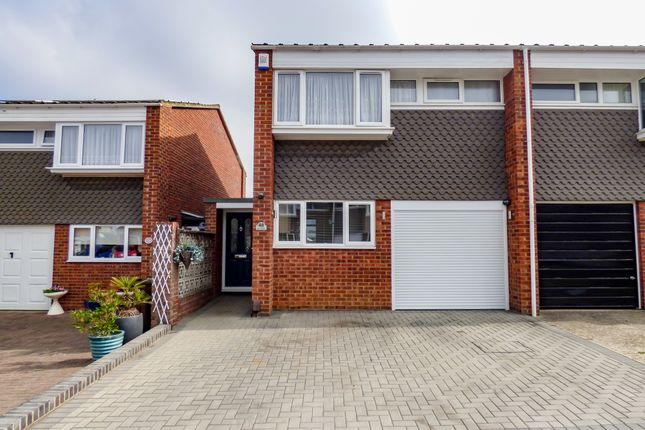 Thumbnail Semi-detached house for sale in Ivy Close, Gravesend, Kent