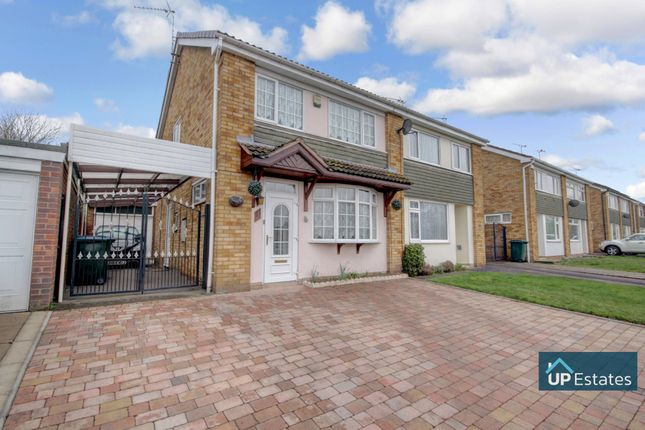 Thumbnail Semi-detached house for sale in Quorn Way, Binley, Coventry