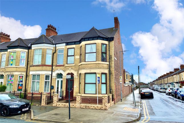 Thumbnail End terrace house for sale in Holderness Road, Hull, East Yorkshire