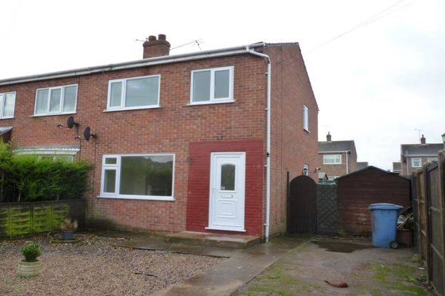 Thumbnail Semi-detached house to rent in Camborne Crescent, Retford