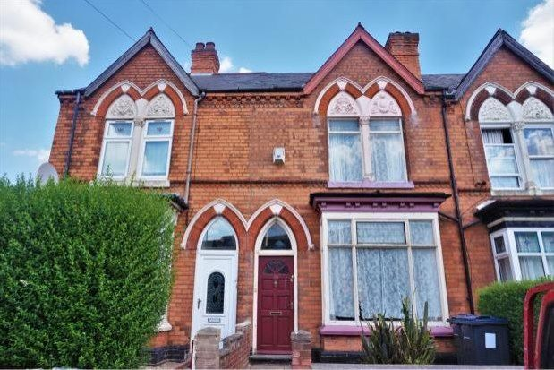 Thumbnail Terraced house to rent in Edwards Road, Birmingham