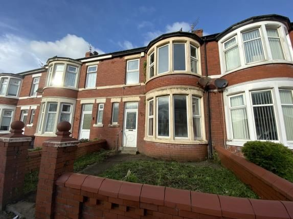 Front of Woburn Road, Blackpool, Lancashire FY1