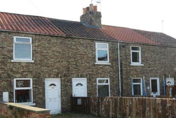 2 bedroom terraced house to rent in Langton Road, Malton