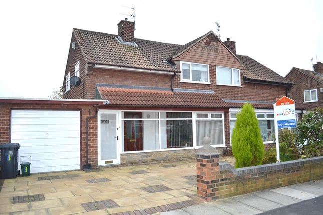 Thumbnail Semi-detached house to rent in Byron Road, Lydiate, Liverpool