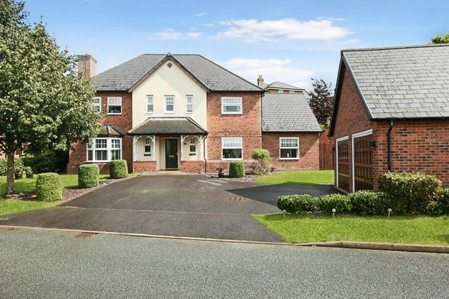 Thumbnail Detached house for sale in Springwater Drive, Weston, Crewe