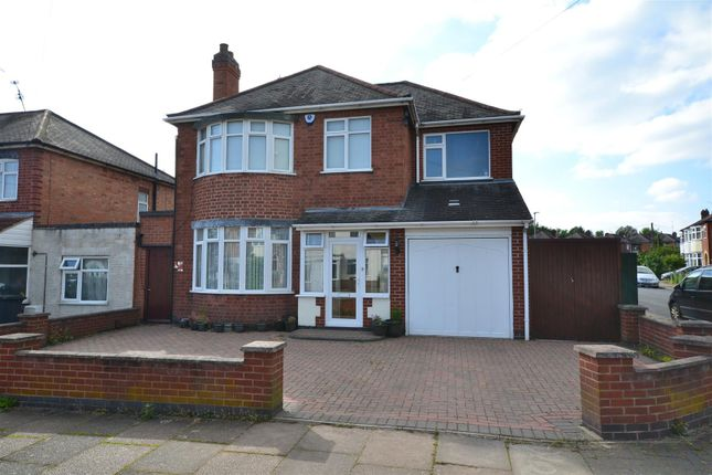 Thumbnail Detached house for sale in Brinsmead Road, Leicester