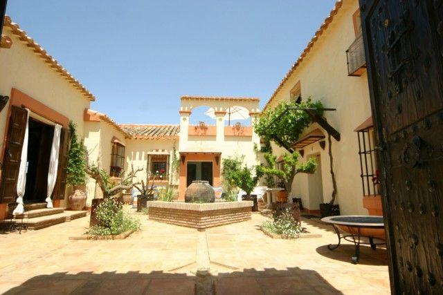 Courtyard of Spain, Málaga, Villanueva Del Rosario