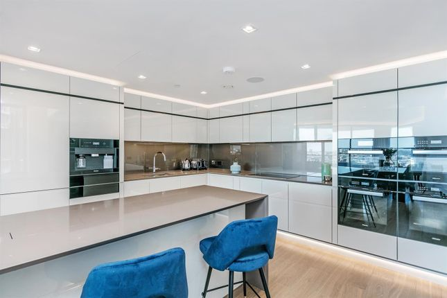 Kitchen of Tower Two, The Corniche, 23 Albert Embankment, London SE1