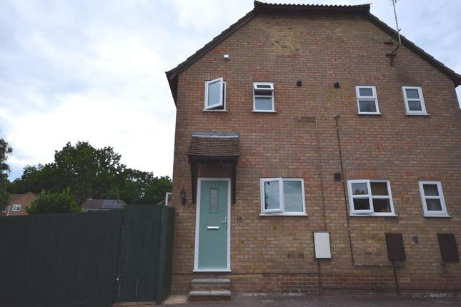 Thumbnail Semi-detached house to rent in Galleon Close, Rochester