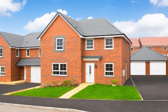 """Thumbnail Detached house for sale in """"Radleigh"""" at Bankwood Crescent, New Rossington, Doncaster"""