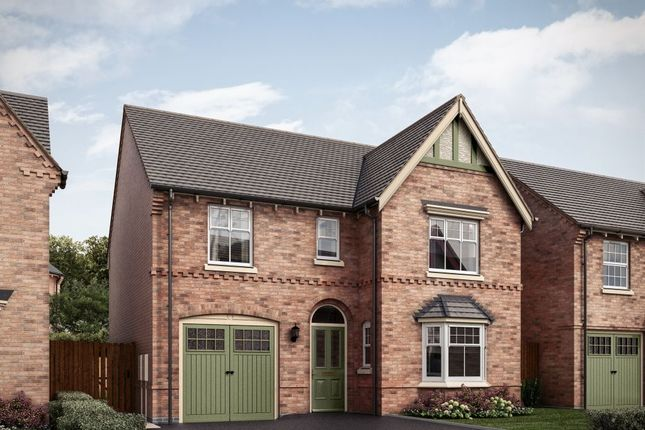 """4 bed detached house for sale in """"The Featherstone Victorian 3rd Edition"""" at Spring Avenue, Ashby-De-La-Zouch LE65"""