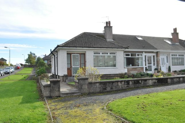 Thumbnail Terraced bungalow for sale in Craigdhu Road, Milngavie, East Dunbartonshire