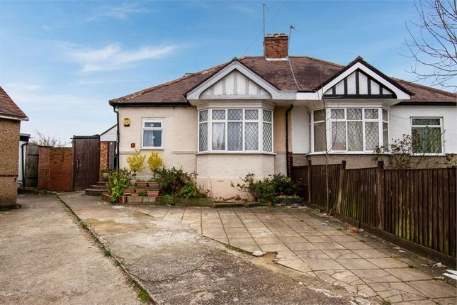 Thumbnail Semi-detached bungalow for sale in Gordon Gardens, Edgware, Greater London