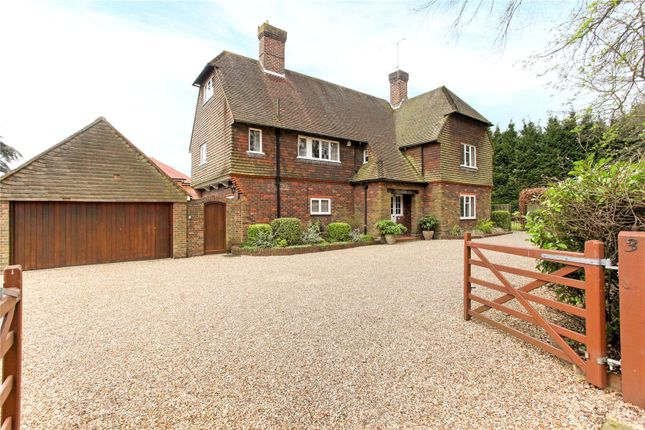 Thumbnail Detached house for sale in Trodds Lane, Guildford, Surrey