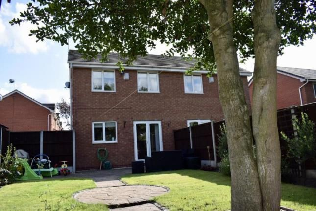 Garden of Hollybank Close, Winnington, Northwich, Cheshire CW8
