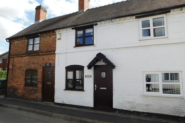 Thumbnail Terraced house for sale in Cannock Road, Penkridge, Stafford